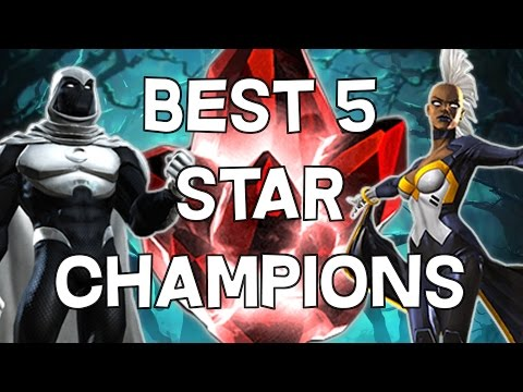Best 5 Star Champions - Marvel Contest Of Champions - 동영상