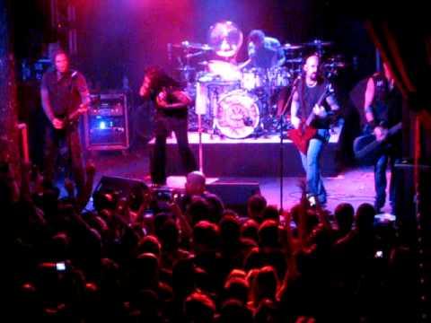 Sevendust - Crucified (Dallas 4/20/11 - Trees)