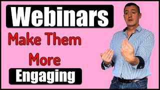 Online lessons & Webinars-How to make them more engaging #Webinars