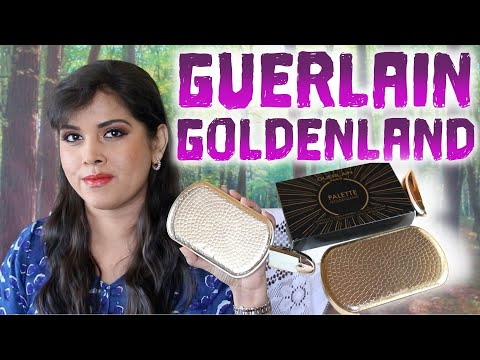 easy holiday 2019 makeup looks with guerlain goldenland