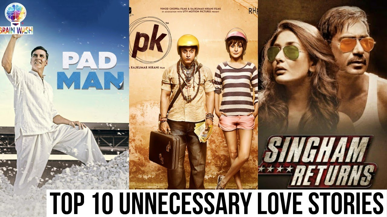 Top 10 Unnecessary Love Stories in Bollywood | Top 10 | Brainwash
