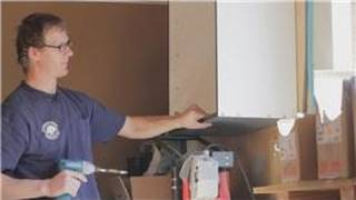 Cabinets 101 : How To Reattach Loose Cabinets