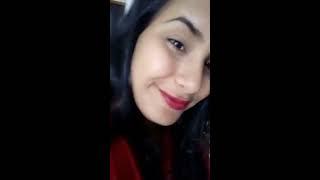 Novinha fazendo live sensual para os amiguinhos no facebook