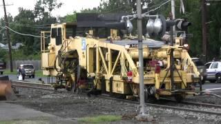 HD: Conrail MOW - Crossing Replacement - Magnolia, NJ