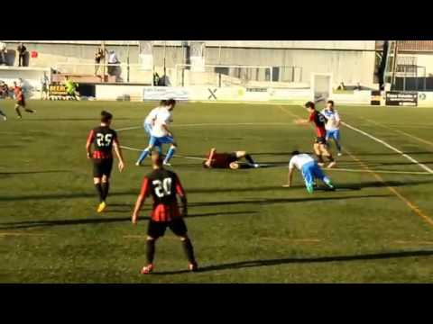 As agressões dos jogadores do Canelas 2010 contra o Vila FC