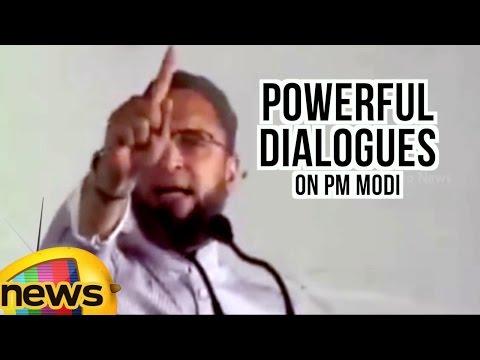 Asaduddin Owaisi Powerful Dialogues On Prime Minister Narendra Modi | Mango News