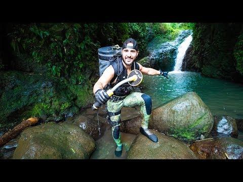 Treasure Hunting Hawaii WATERFALL- Found Working Apple Watch, DJI Drone, and More!!
