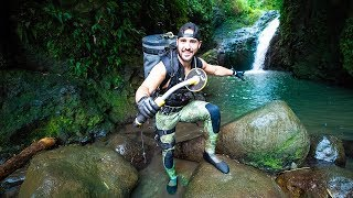 Treasure Hunting Hawaii WATERFALL- Found Working Apple Watch, DJI Drone, and More!!