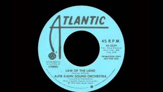 Alfie Kahn Sound Orchestra - Law Of The Land