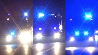 [3IN1] AS EuroFire + APS Actros + ABP EuroCargo VVF Treviso - 3x Italian Fire Dept trucks responding