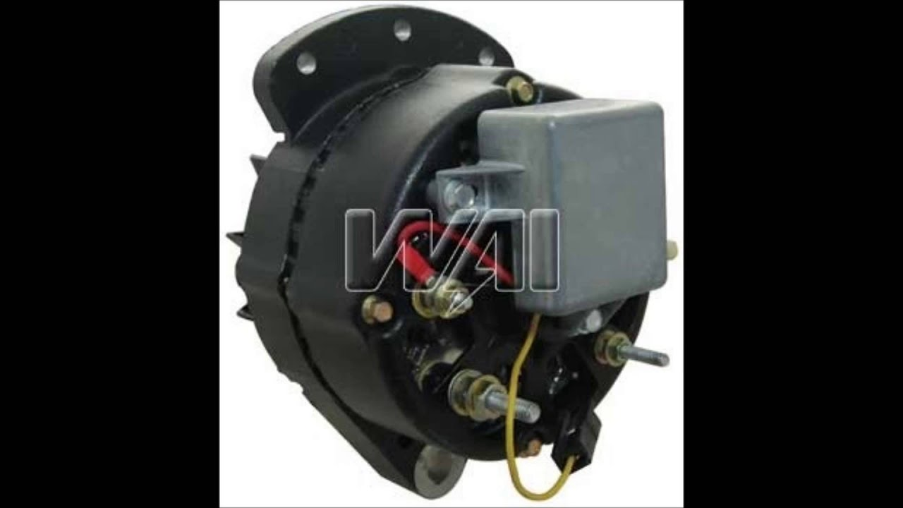 8056n - Alternator  37 Amp Motorola Type  Without Pulley  New Top Quality