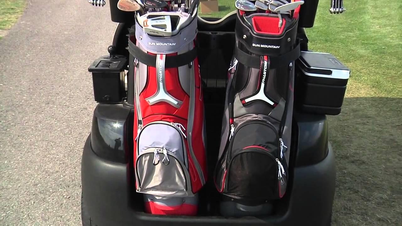 sun mountain phantom cart bag youtube