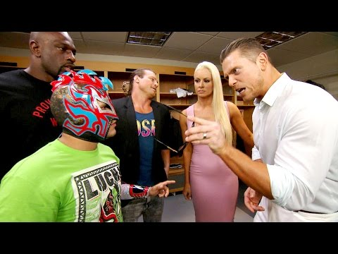 Kalisto steps up to The Miz: July 7, 2016