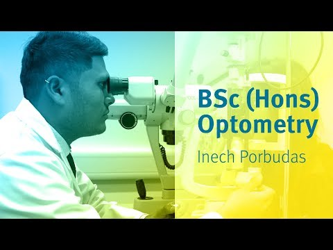 BSc (Hons) Optometry at City, University of London