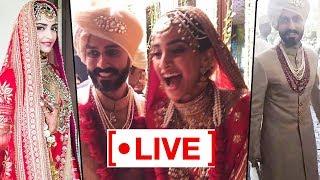 Sonam Kapoor and Anand Ahuja's wedding LIVE