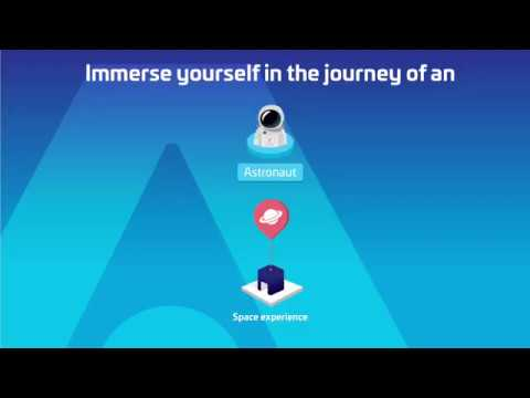 Immerse yourself in the journey of an Astronaut with Thales