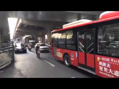Chengdu traffic - Moments of Impact China