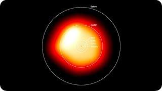 КосмоСториз: Звезда БЕТЕЛЬГЕЙЗЕ НАЧАЛА ДЕФОРМИРОВАТЬСЯ