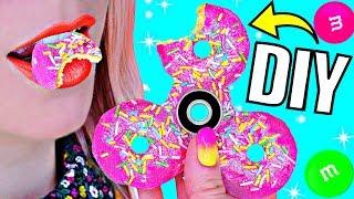 DIY СЪЕДОБНЫЙ СПИННЕР за 5 минут своими руками БЕЗ ПОДШИПНИКА и С НИМ / Candy Fidget Spinners