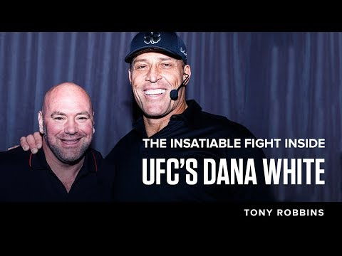 The insatiable fight inside UFC's Dana White| Tony Robbins Podcast