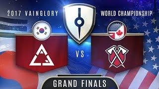 Tribe (NA) VS ACE Gaming (EA) - Razer 2017 Vainglory World Championship - Grand Finals