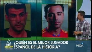 Xavi se impuso en la MACROENCUESTA de El Chiringuito sobre el mejor jugador español