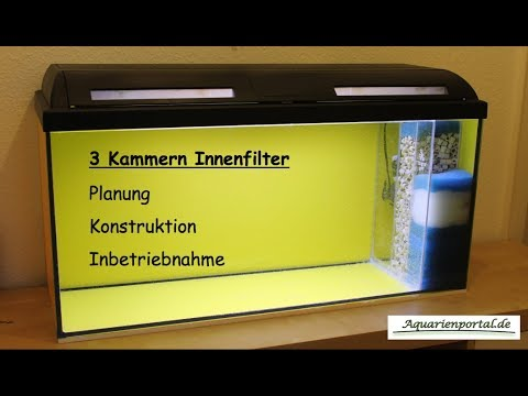innenfilter f r das aquarium selber bauen aquarienportal youtube. Black Bedroom Furniture Sets. Home Design Ideas