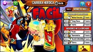 AL FIN UNA CARRERA TRANQUILA Y FREE, CARRERA HEROICA METAGAME #2 VUELTA 7-DRAGON CITY