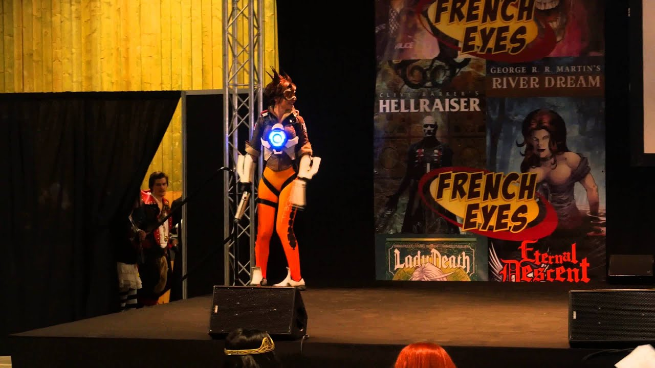 Cosplay cup american session 14 overwatch tracer youtube