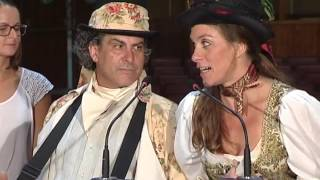 Presentación de las nuevas rutas teatralizadas por el conjunto histórico - La Orotava