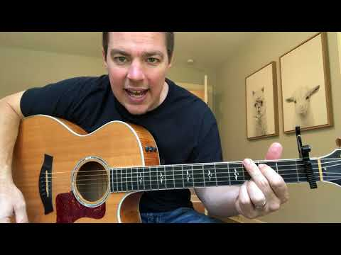 Drowns the Whiskey | Jason Aldean | Beginner Guitar Lesson