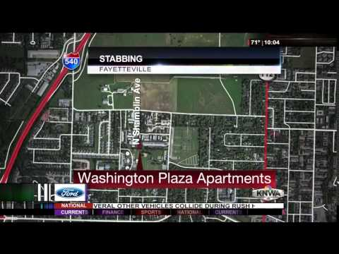 Two Stabbed at Fayetteville Apartment Complex