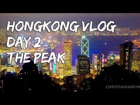 Hong Kong Vlog Day 2 | The Peak