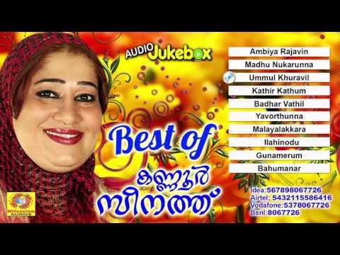 Best of Kannur Seenath | Latest Malayalam Mappilapattukal | Mappila Songs | Latest Mappila Album
