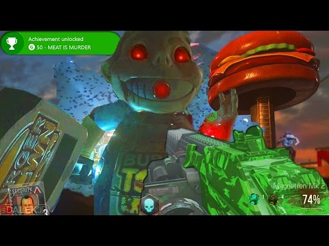 """EXO ZOMBIES """"INFECTION"""" EASTER EGG - Easter Egg Guide! """"MEAT IS MURDER"""" - (Exo Zombies Infection)"""