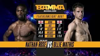 BAMMA London: Nathan Rose vs Ollie Mathis