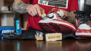 Cleaning Jordan Chicago 1