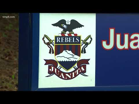 Juanita High School students voting on mascot change
