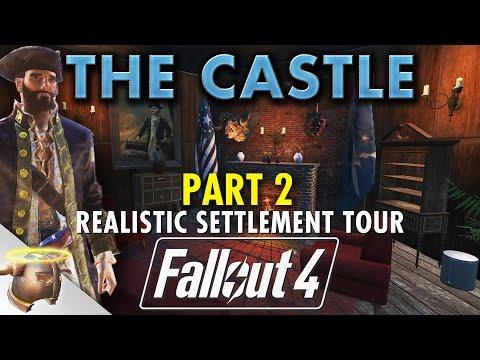 MINUTEMEN CASTLE FINAL TOUR - PART 2: Realistic Fallout 4 settlement & battle!