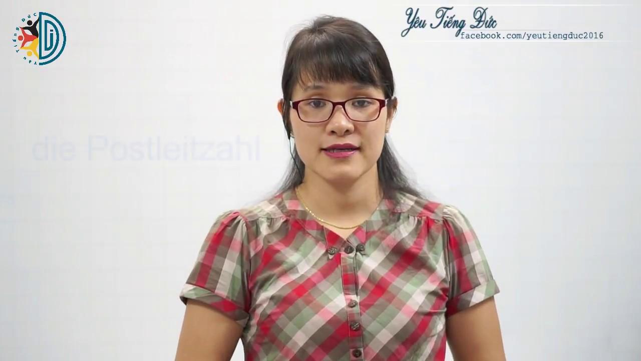 Học tiếng Đức cùng cô Thùy Dương - Bài 6: Persönliche Angaben – Thông tin cá nhân