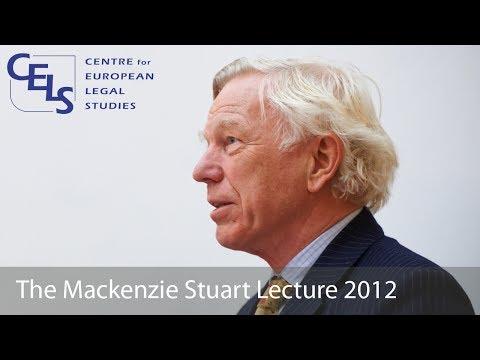 'The EU as a Source of Inspiration': 2012 Mackenzie Stuart Lecture - Sir Konrad Schiemann