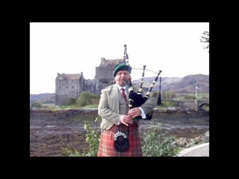 Colin Macdougall plays Loch Duich at Eilean Donan Castle