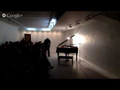 Fima's solo piano performance at Come In Gallery, Kharkiv, Ukraine on April 18th, 2015