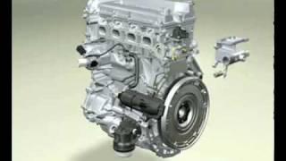 Constituants d'un moteur diesel