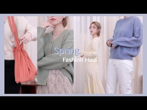 (subs)spring fashion haul🌷 알록달록 봄옷 패션 하울   CHES 체스