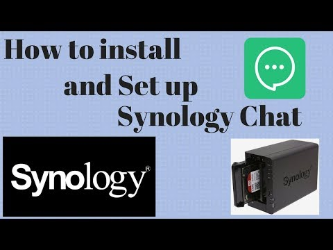 How to install and Set up Synology Chat! - YouTube