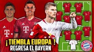 Así sera la PODEROSA Alineación del Bayern Munich para la PROXIMA TEMPORADA