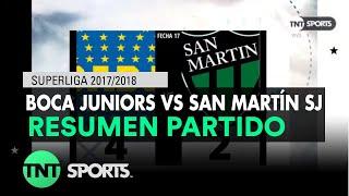 Video Gol Pertandingan Boca Junior vs San Martin San Juan