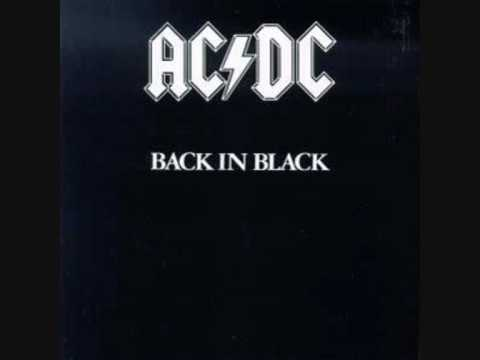 AC/DC - Back in Black (Backing Track)