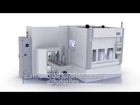 EMAG VL 3 DUO for the High-Productive Manufacturing of Chucked Components!
